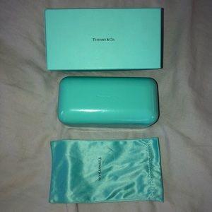 Tiffany and Co. sunglasses case